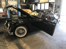 Jaguar XK140 Lichtanlage umgebaut für deutsche Zulassung sowie Lichtmaschine generalüberholt